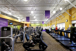 Anytime Fitness Gym Interior